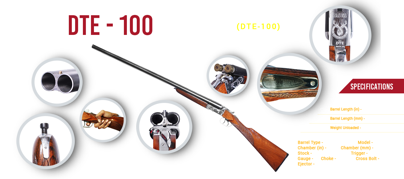 DAVA DTE-100 Made By Bhargav Arms Co.